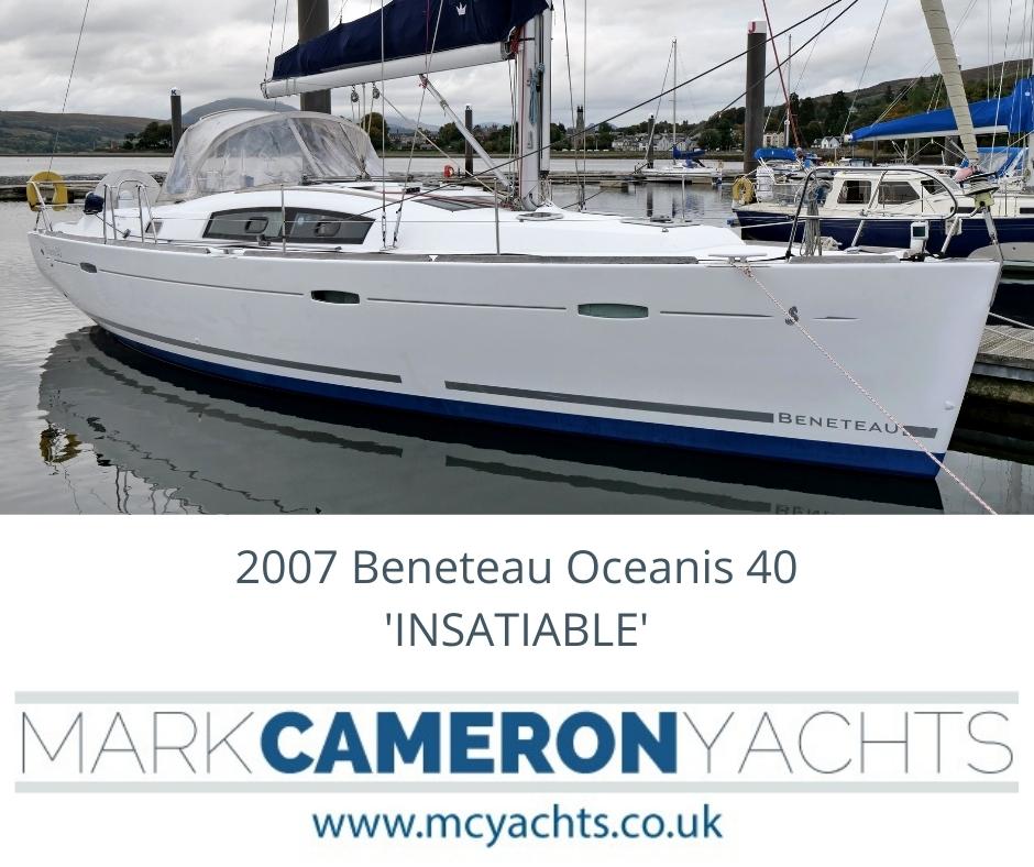 Beneteau Yacht Brokerage Scotland